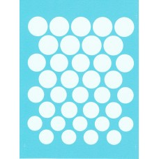 Roundels 1:24th scale - White