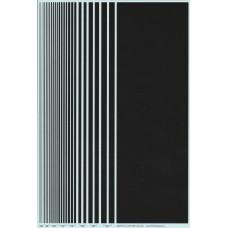BVH Black Stripe Decal Sheet