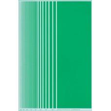 BVH Green Stripe Decal Sheet