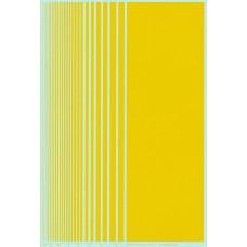 BVH Yellow Stripe  Decal Sheet
