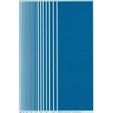 BVH Blue Stripe Decal Sheet