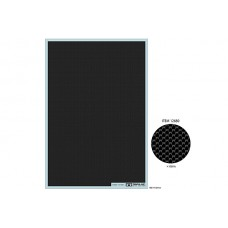 Tamiya Carbon Fibre Decal Sheet (Plain Weave/Extra Fine) (12680)