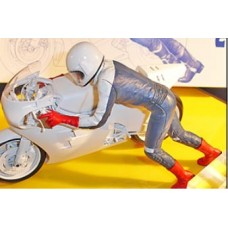 Motorcycle Rider 1:12th Scale