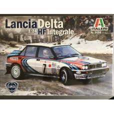 Lancia Delta HF Integrale  1990 World Championship 1:24th Scale
