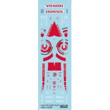 Tabu Design Decal set for the 1/43rd Honda Concept Car 078 (Test 2006)