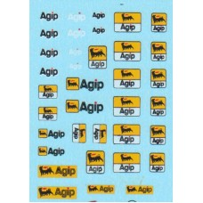 Agip Sponsor Decal Sheet