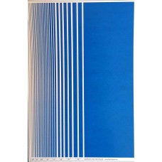 BVH Blue Stripe decal sheet