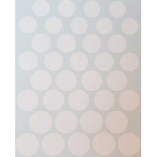 Roundels - Mixed scale - White