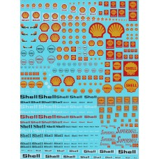Shell and Supershell Motorsport Decal Sheet