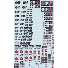 DMC Elf Sponsor Decal Sheet
