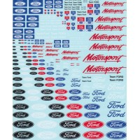 Ford and Ford Motorsport Decals