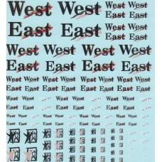 DMC West Decals