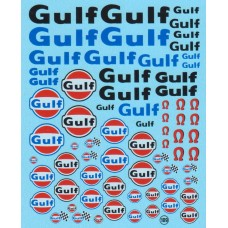 Gulf Sponsor Decal Sheet