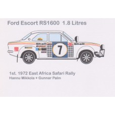 Ford Escort RS1600 1.8 Litres