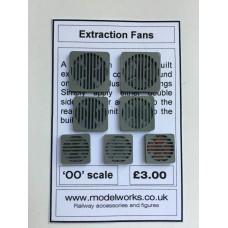 Extraction Fans 'OO' Gauge