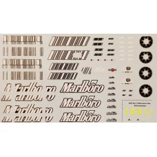 MSM Creation Decal set for the Ferrari F2007 1:43rd