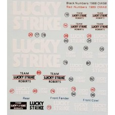 MSM Creation Yamaha Lucky Strike Decal Sheet
