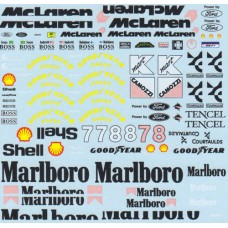 MSM Creation Decal set for the McLaren MP4/8 1:20th