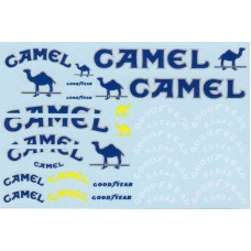 MSM Creation Camel and Goodyear Decal set for the Tamiya Lotus 99T 1:20th scale