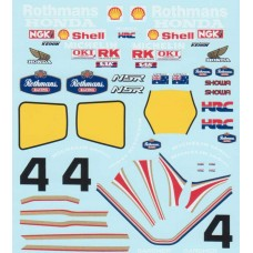 MSM Creation Honda NSR 500 decal sheet
