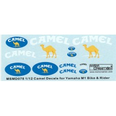 MSM Creation Decal set for the 1:12th Yamaha M1 2006
