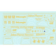 MSM Creation Decal set for the Lotus Type  98T 1:20th Tamiya