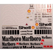 MSM Creation Decal Set for the McLaren MP4/4