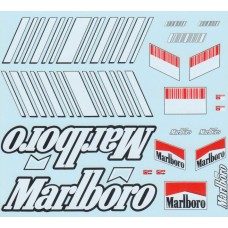 MSM Creation Ducati GP8 Tobacco and Barcode decal sheet