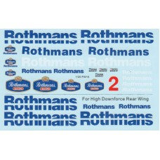 MSM Creation Decal set Williams FW16 Rothmans