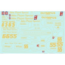 MSM Creation Decal set for the Lotus Type 79 1:20th Tamiya