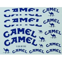 MSM Creation Camel decal set for the 1:20th Tamiya Benetton B192