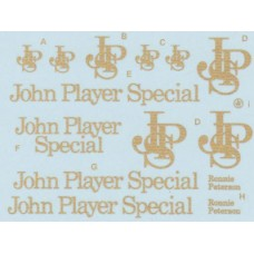MSM Creation John Player Special decal sheet for the Ebbro Lotus 72E