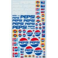 Pepsi Sponsor Decal Sheet