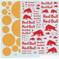 Red Bull Waterslide Decal Sheet