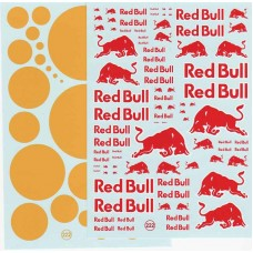 Red Bull Waterslide Decal Sheet