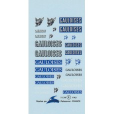 Gauloises Sponsot Decal Sheet - 1:43rd Scale