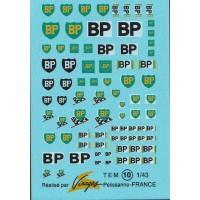 BP Sponsor Decal Sheet