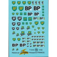 BP Sponsor Decal Sheet