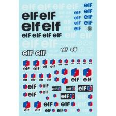 Elf Sponsor Decal Sheet