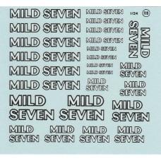 Mild Seven Decals