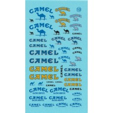 Camel Sponsor Decal Sheet