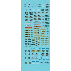 Light Sponsor Decal Sheet