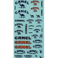 Camel Sponsor Decal Sheet