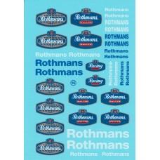 Rothmans Decals