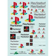 Playstation Waterslide Decals