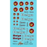 Belga Sponsor Decal Sheet