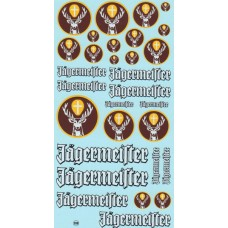 Jagermeifter Sponsor Decal Sheet