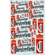 Chesterfield Sponsor Decal Sheet