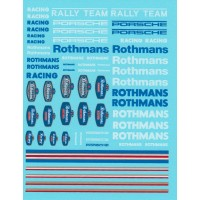 Rothmans, Porsche and Rally Decal Sheet