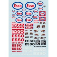 Esso Sponsor Decal Sheet